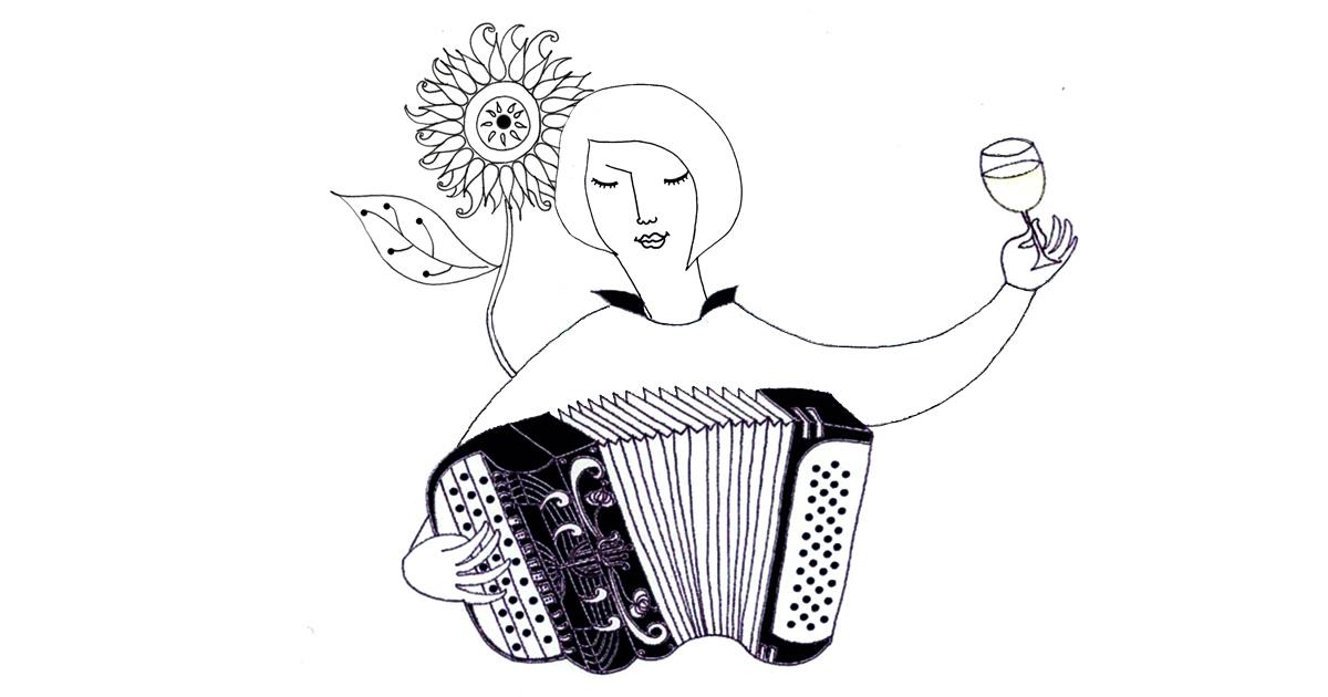 Un jour je te jouerai de l'accordéon à Paris.